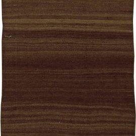 Authentic Turkish Brown Flat-Weave Runner BB5768