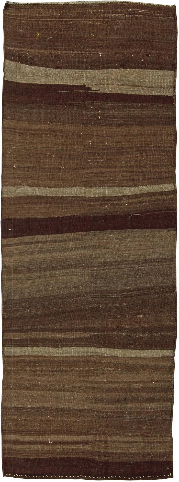 Antique Flat Weave Turkish Runner BB5766
