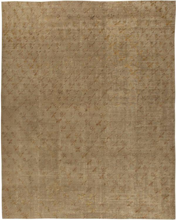 Antique Turkish Ghiordes Rug (size adjusted) BB5446