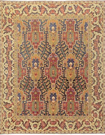 Turkish Hereke Antique Rug BB5914