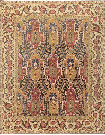 Antique Turkish Oushak Rug BB7031