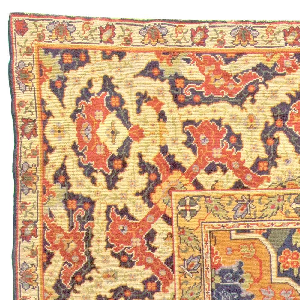 Turkish Hereke Antique Rug BB5914