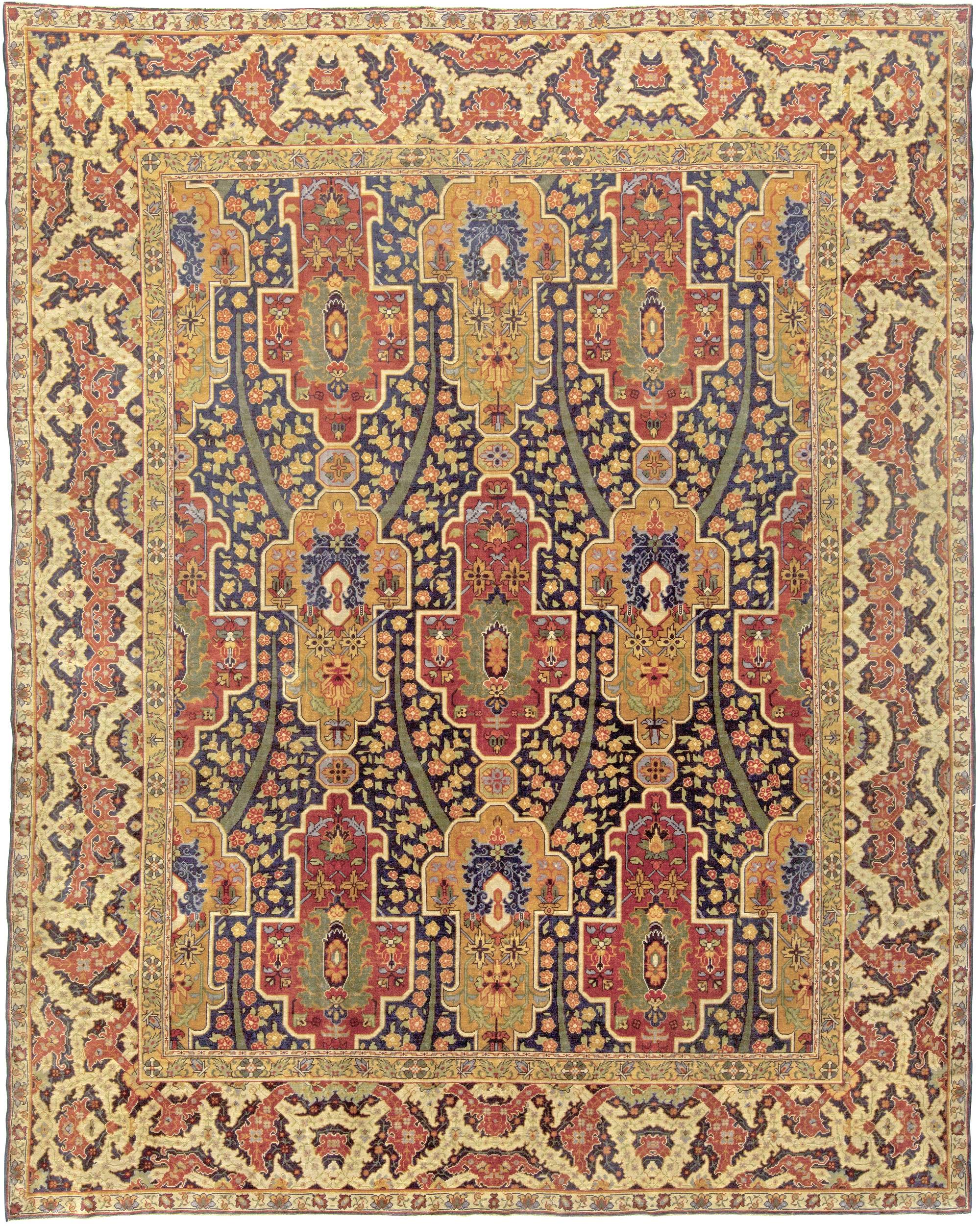 Turkish Hereke Antique Rug Bb5914 By Doris Leslie Blau