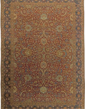 Turkish Hereke Antique Rug BB6044