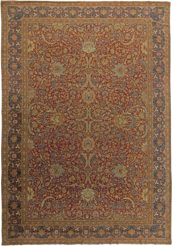 Turkish Hereke Antique Rug BB6044