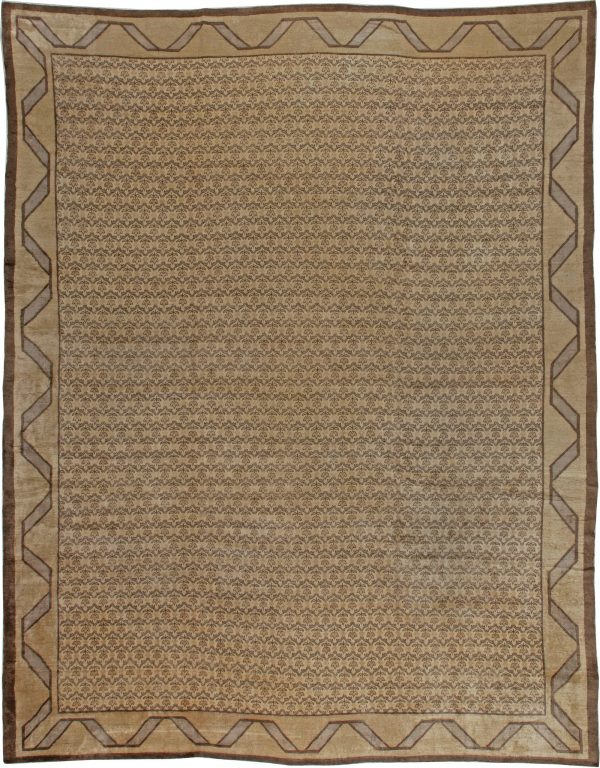 Antique Turkish Hereke Carpet BB5590