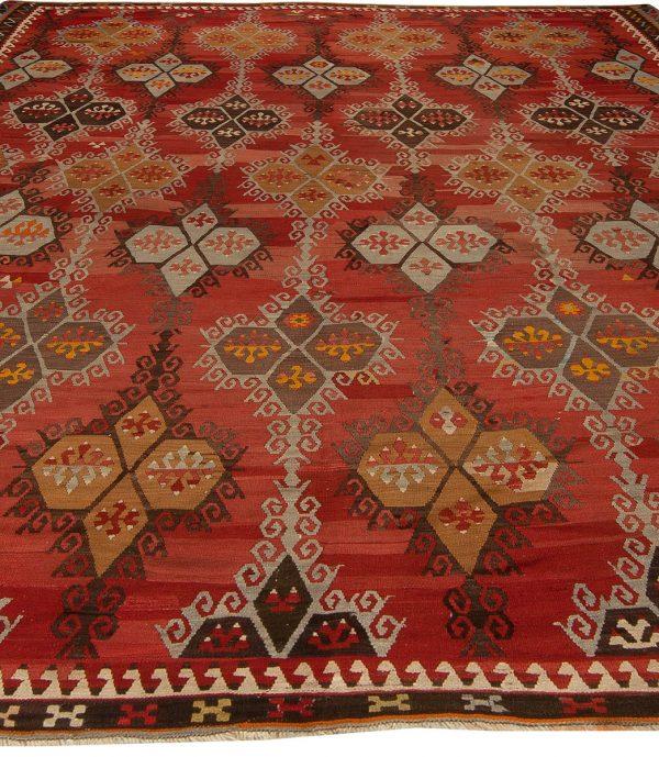 Antique Turkish Kilim Rug BB5428