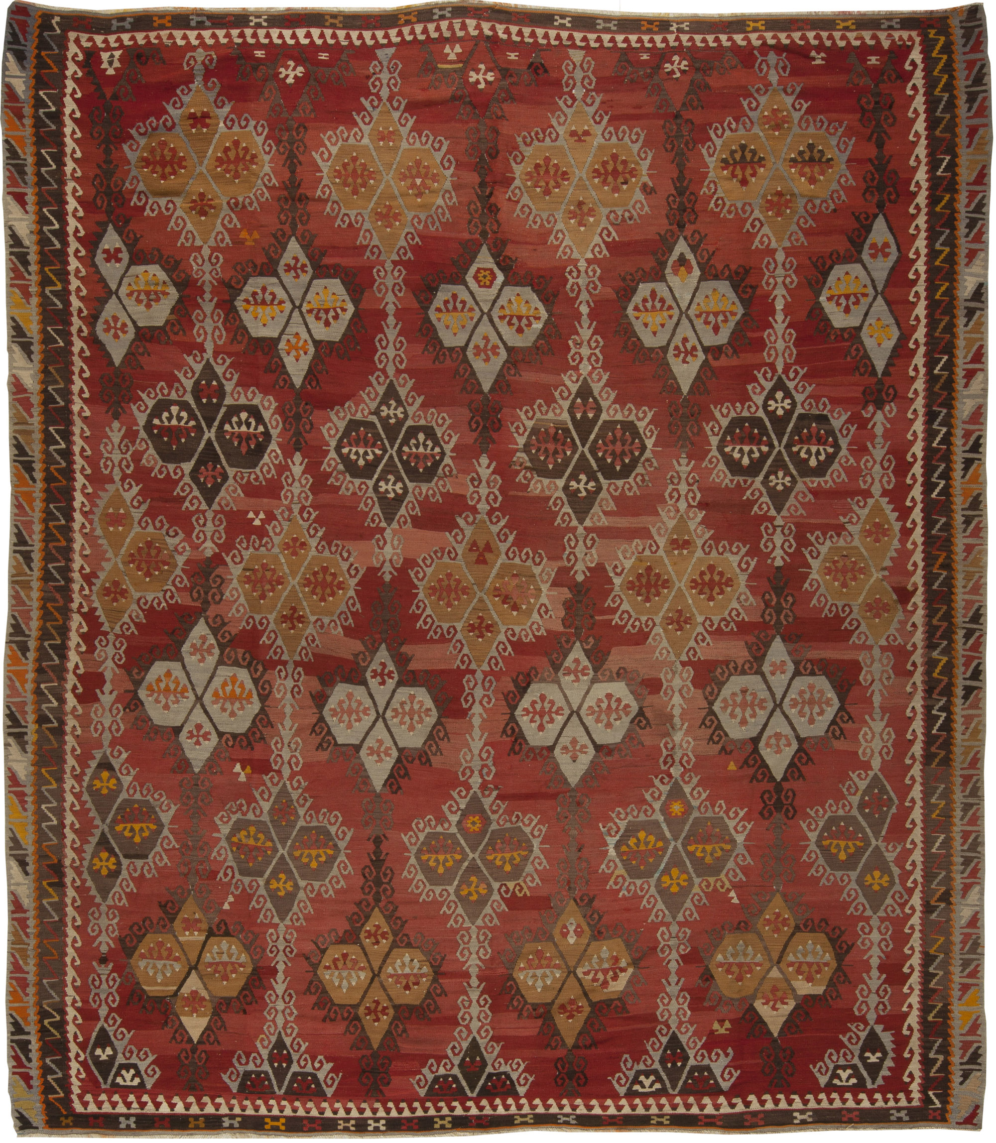 Antique Turkish Kilim Rug BB5428 By Doris Leslie Blau