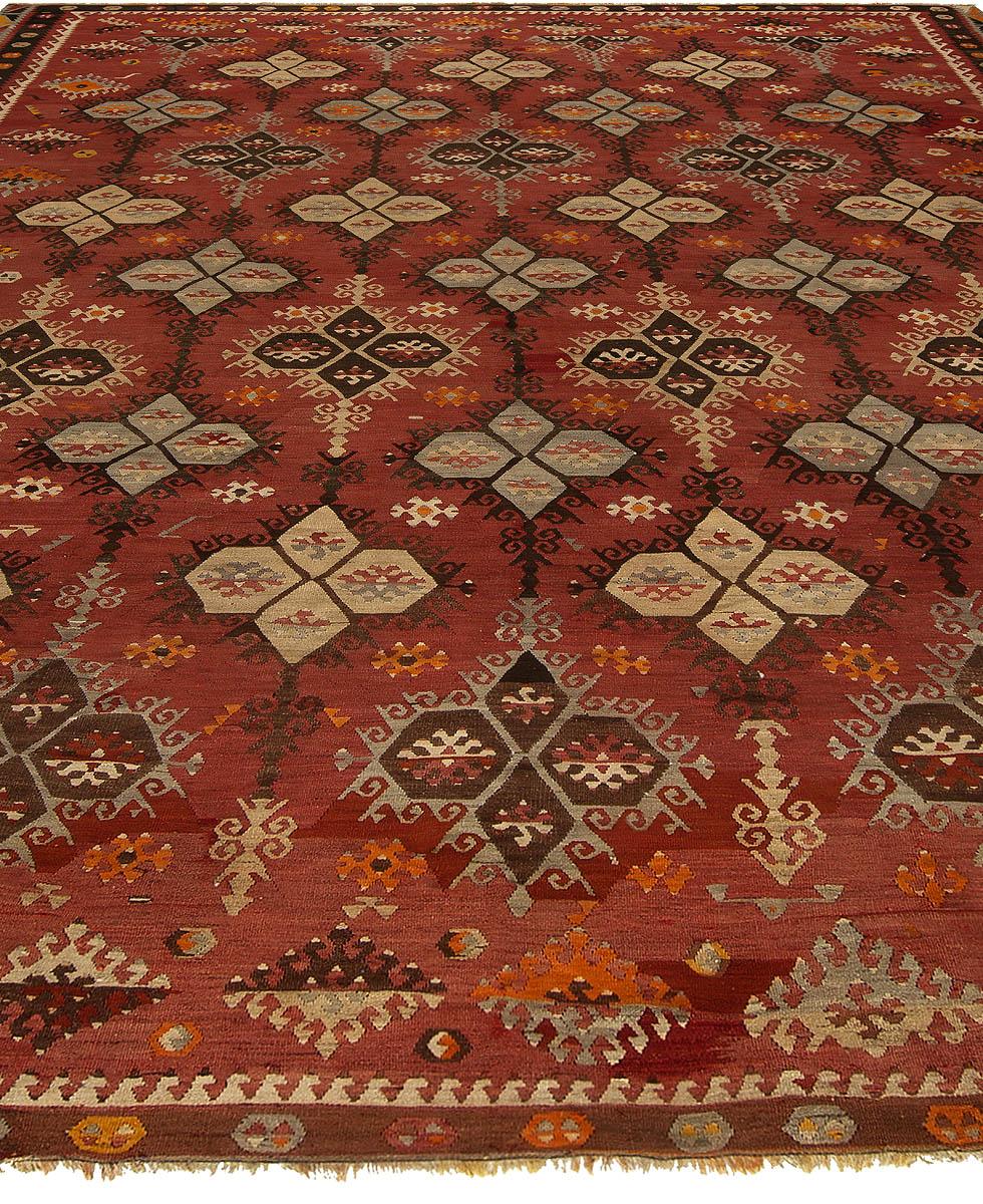 Turkish Kilim Rug Bb5429 By Dlb