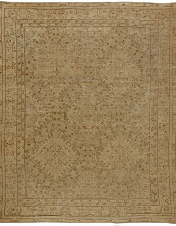 Antique turca Oushak Alfombra BB5605