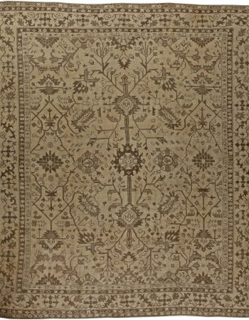 Antique Turkish Oushak Rug BB5727