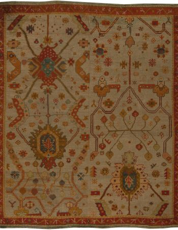 Vintage Turkish Oushak Rug (size adjusted) BB5449