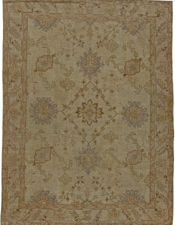 Antique Turkish Oushak Rug BB5503