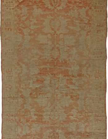 Antique Turkish Oushak Rug BB5510