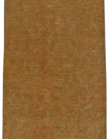 Antique Turkish Oushak Runner (size adjusted) BB5622