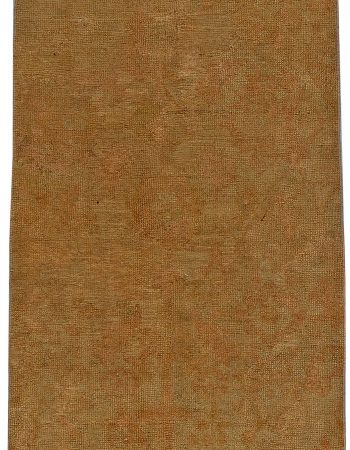 Antique Turkish Oushak Runner (size adjusted) BB5623