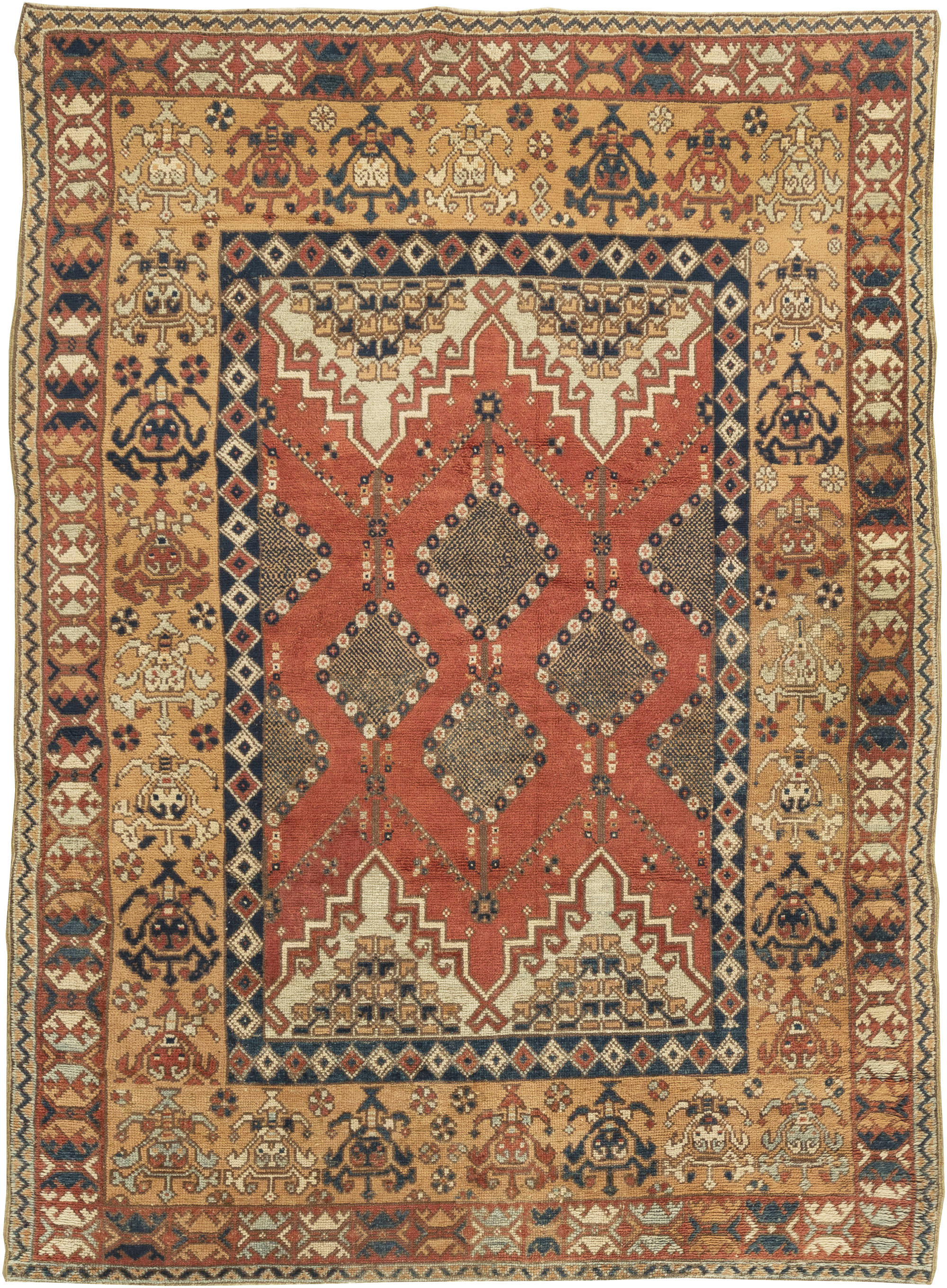 Vintage Moroccan Rug Bb6353 By Dlb