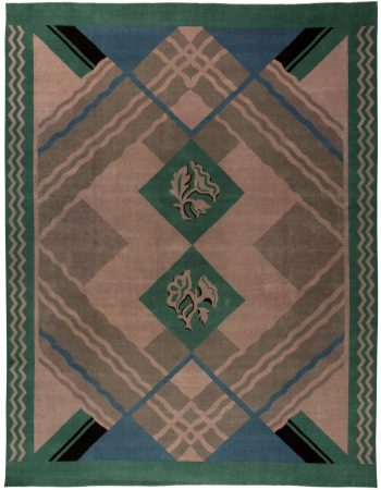 Weinlese-Chinese-Deco-Teppich BB5399