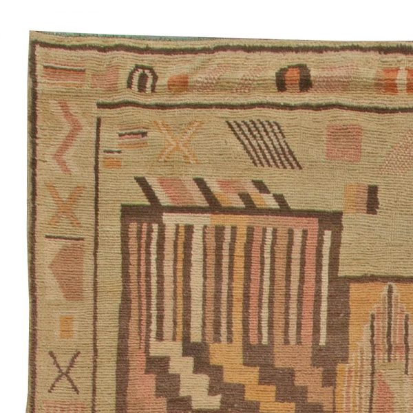 Vintage Moroccan Rug BB5942