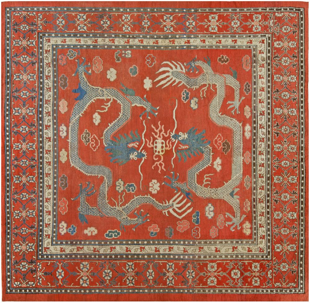 Vintage Samarkand Rug BB5398
