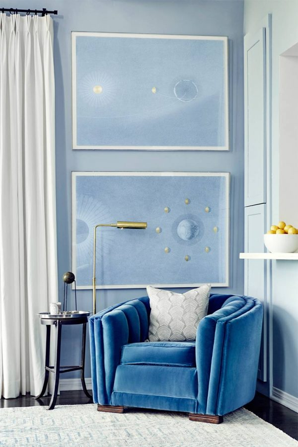 blue-interior-decor-living-room-wall-paint