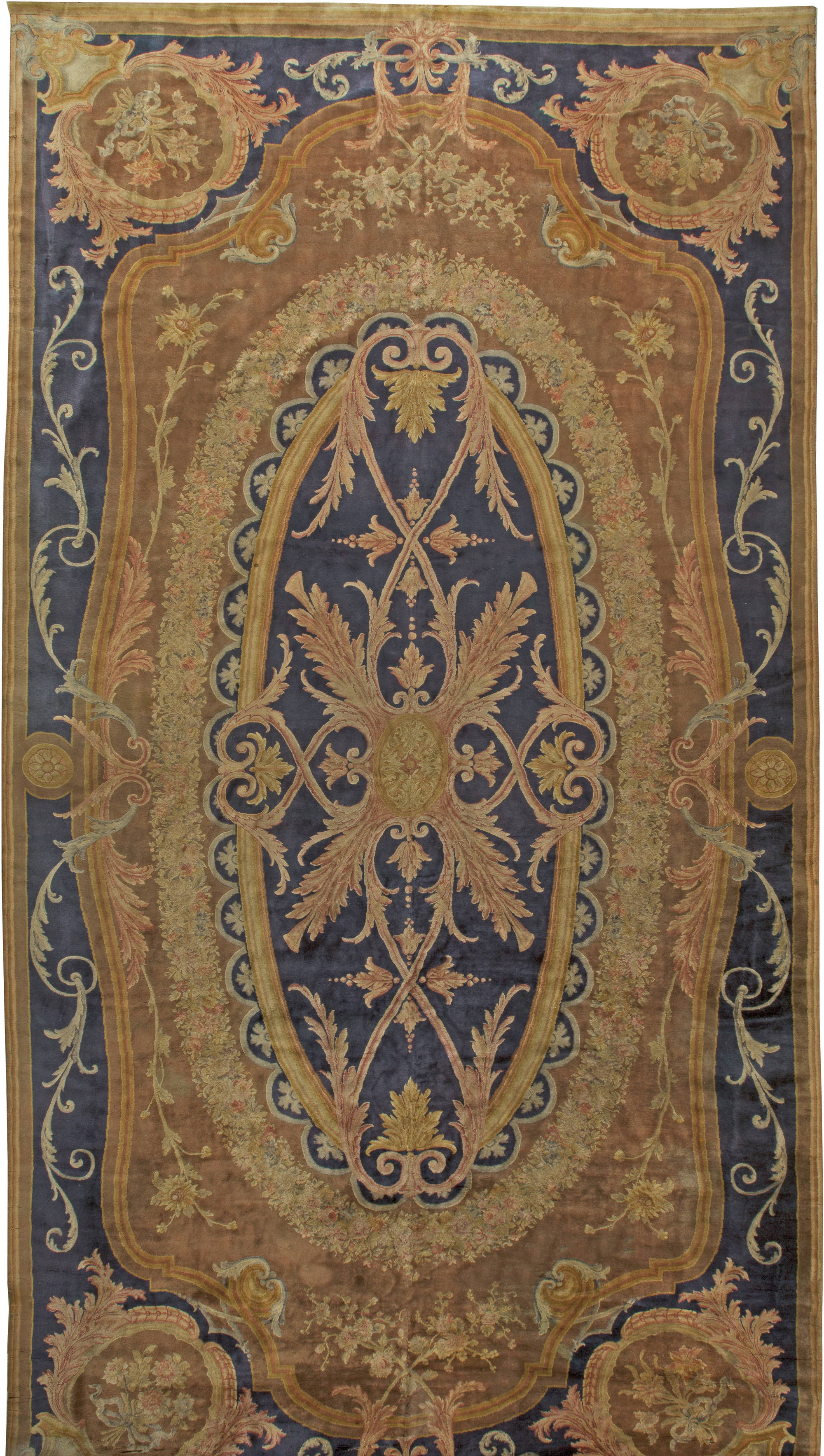 Antique French Savonnerie Carpet BB1374