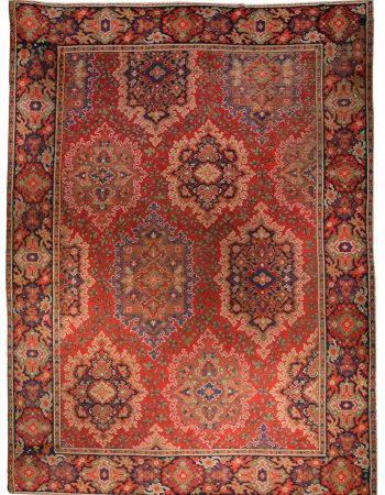 Antique English Axminster Carpet BB1406
