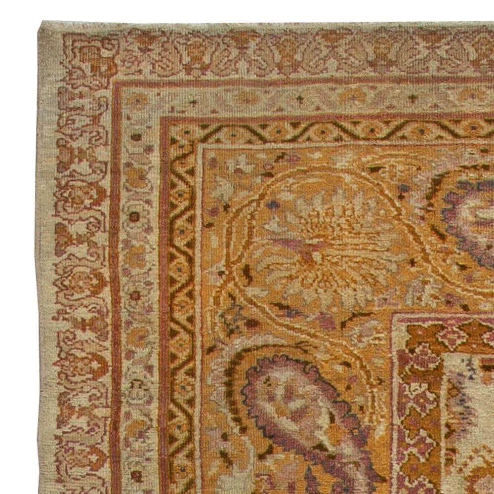 Antique Indian Amritsar Rug BB5660