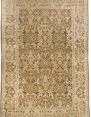 Antique indischen Amritsar Teppich BB3675