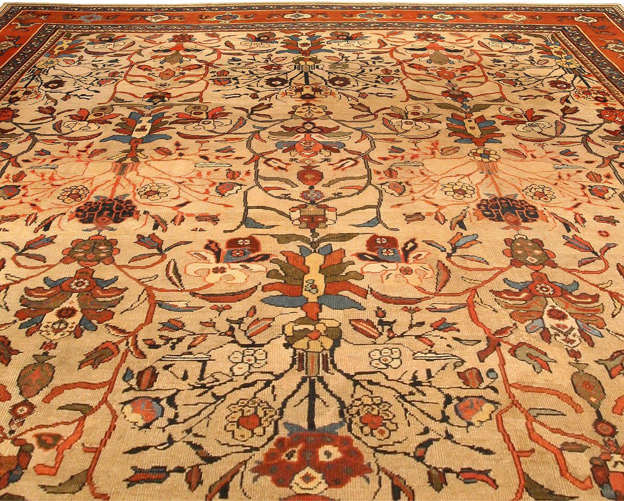 Antique Persian Sultanabad Carpet BB0633