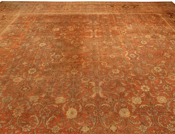 Oversize Antique Persian Sultanabad (size adjusted) BB4167