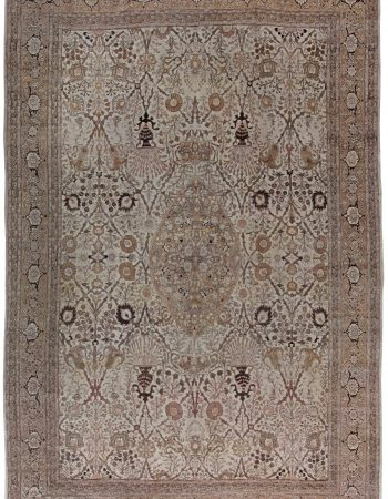 Antique Persian Tabriz Carpet BB6822