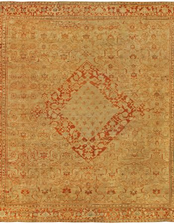Oversized Antique Turkish Oushak Rug BB5281