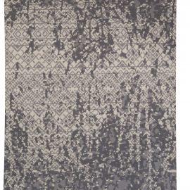 Contemporary Design Petra Gray Handwoven Wool Rug N10235