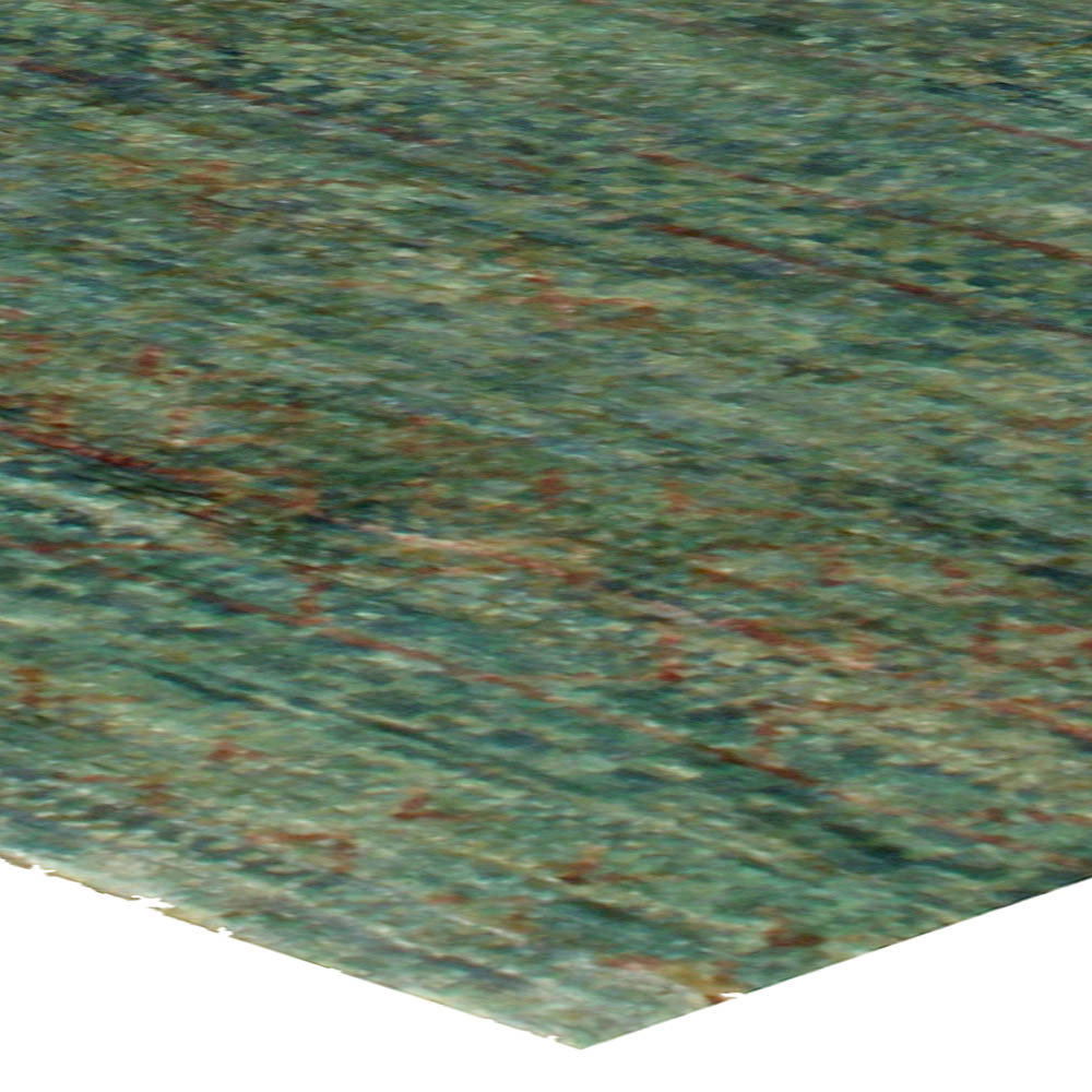 Contemporary Water-Sedge Handwoven Hemp Rug N10674