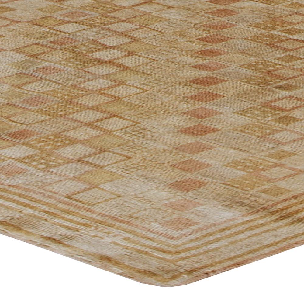 Wool Silk Rugs Contemporary: Tibetan Rug N11052 By Doris Leslie Blau