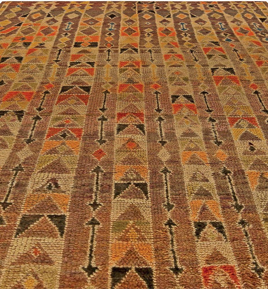 Vintage Moroccan Rug BB5787 By Doris Leslie Blau