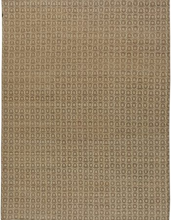 Traditional Oushak Design Rug N12086