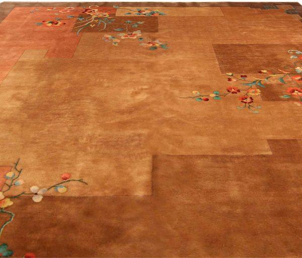 Vintage Chinese Art Deco Carpet BB4123