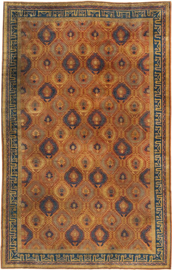 Vintage Chinese Deco Rug BB3289