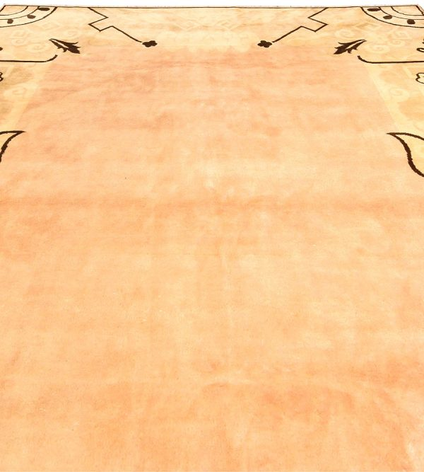 Vintage Chinese Deco Rug BB4042