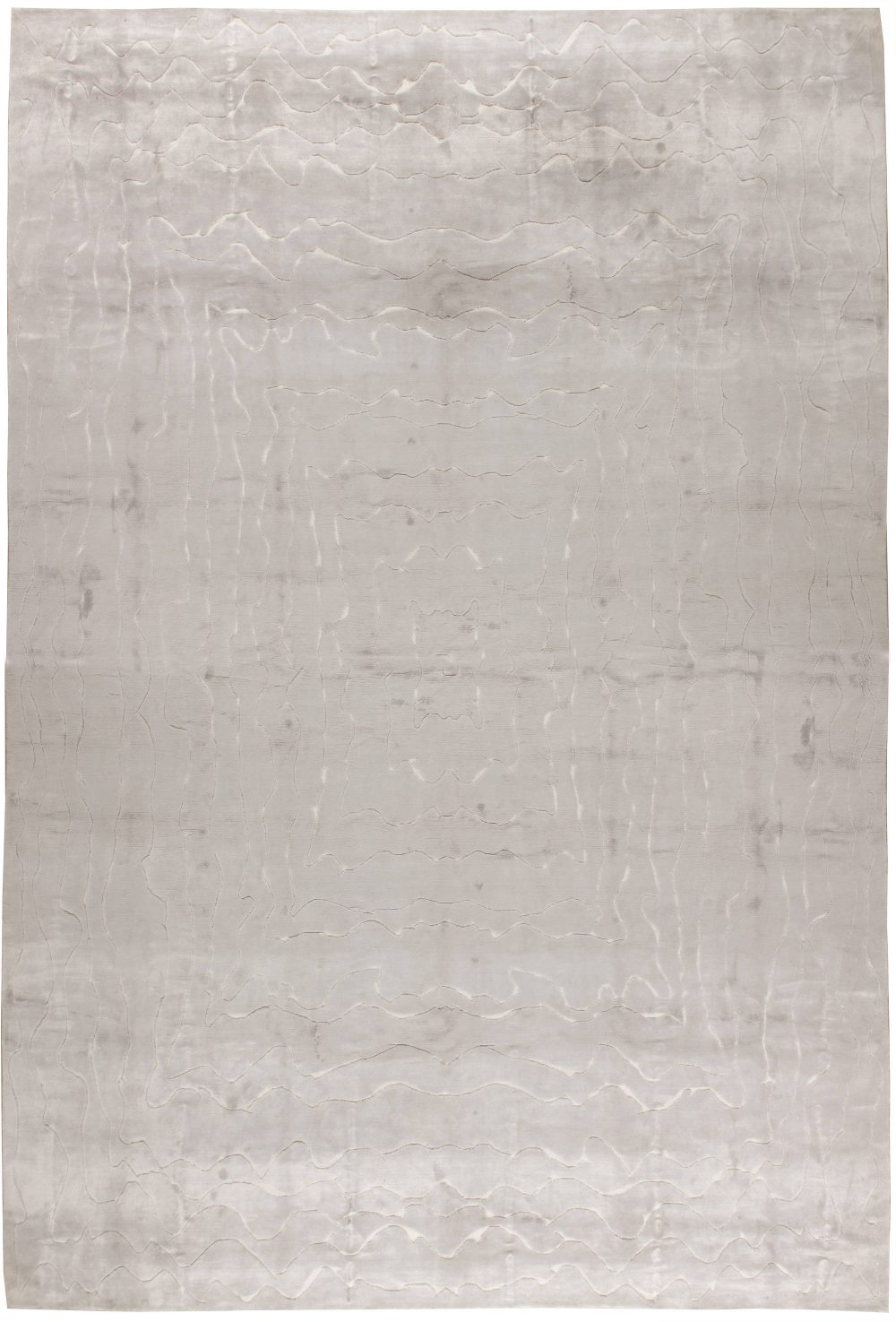 Oversized Contemporary  Rug N11348