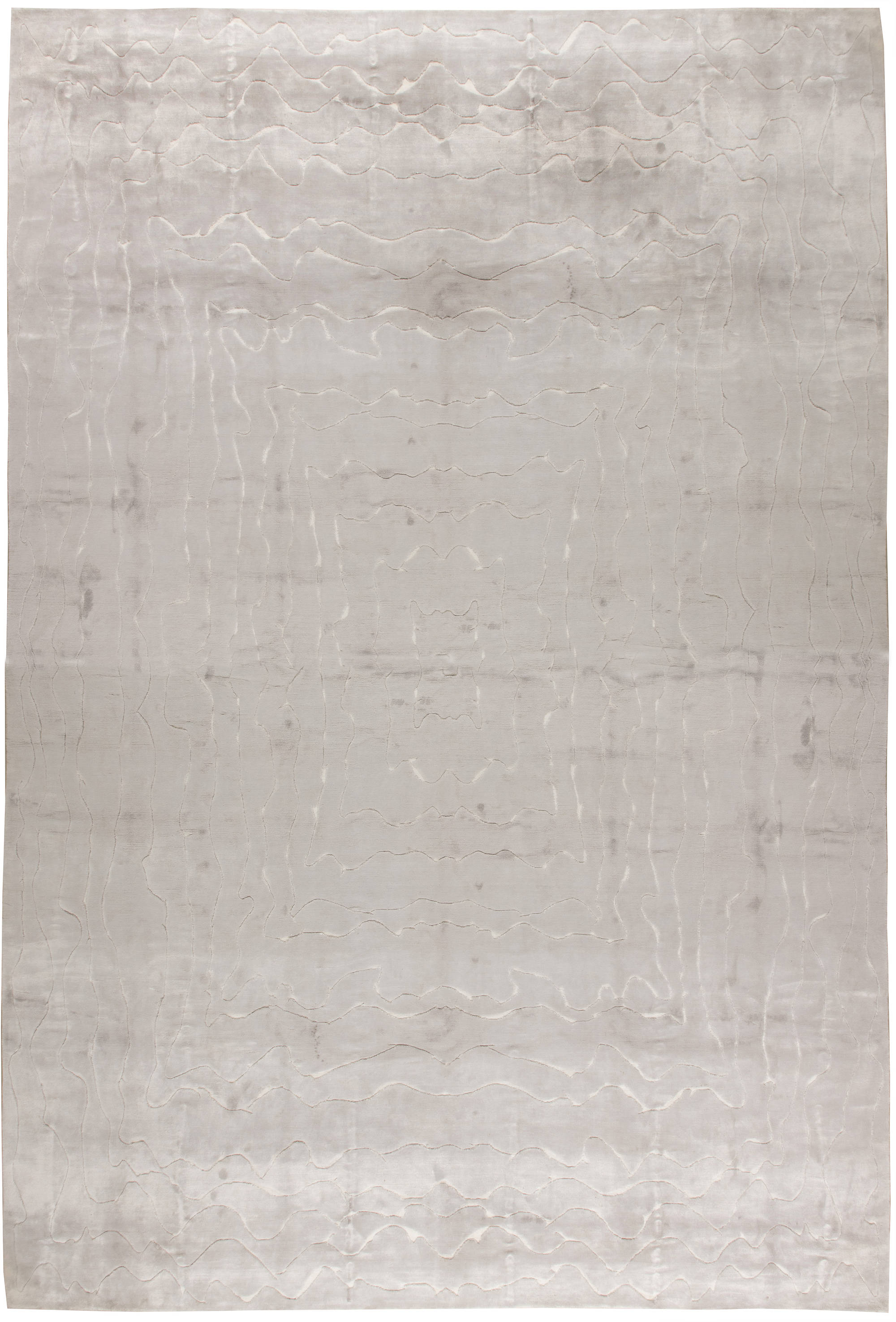 Oversized Contemporary Rug N11348 By Dlb