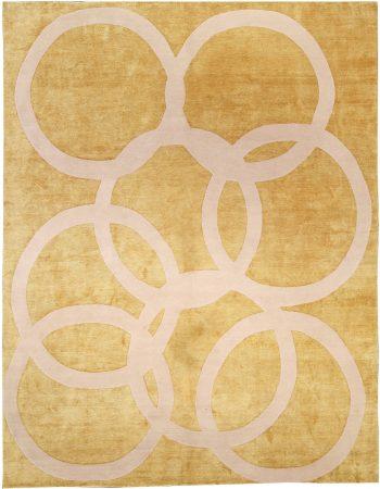 Contemporary Quantum Circles Rug N10962