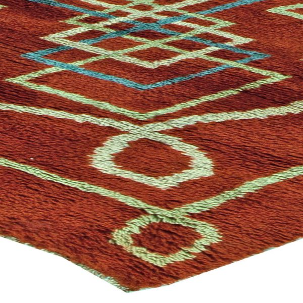 Vintage Art Deco Rug BB5832