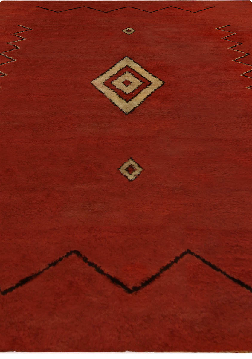 Vintage French Deco Rug BB5245