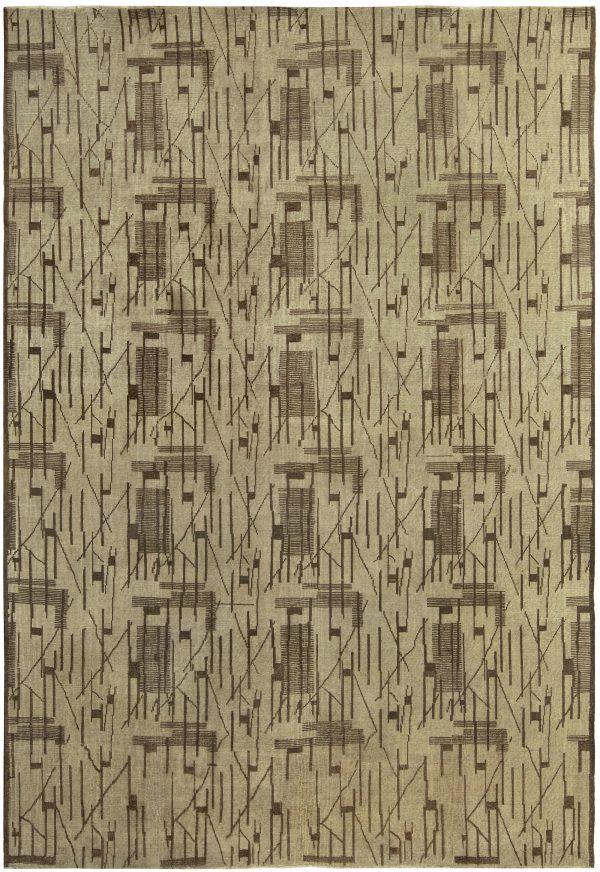 Vintage Art Deco Rug BB5260