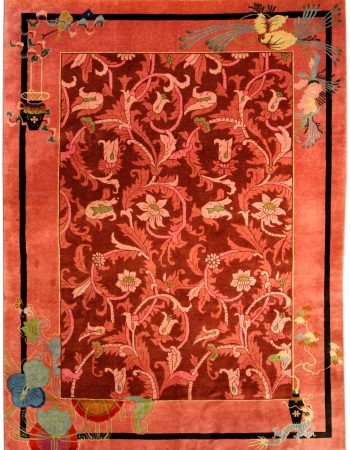 Vintage Chinese Art Deco Carpet BB4169