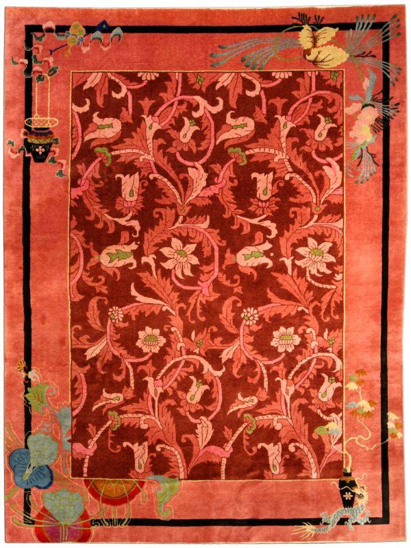 Arte chinesa Vintage Deco Tapete BB4169