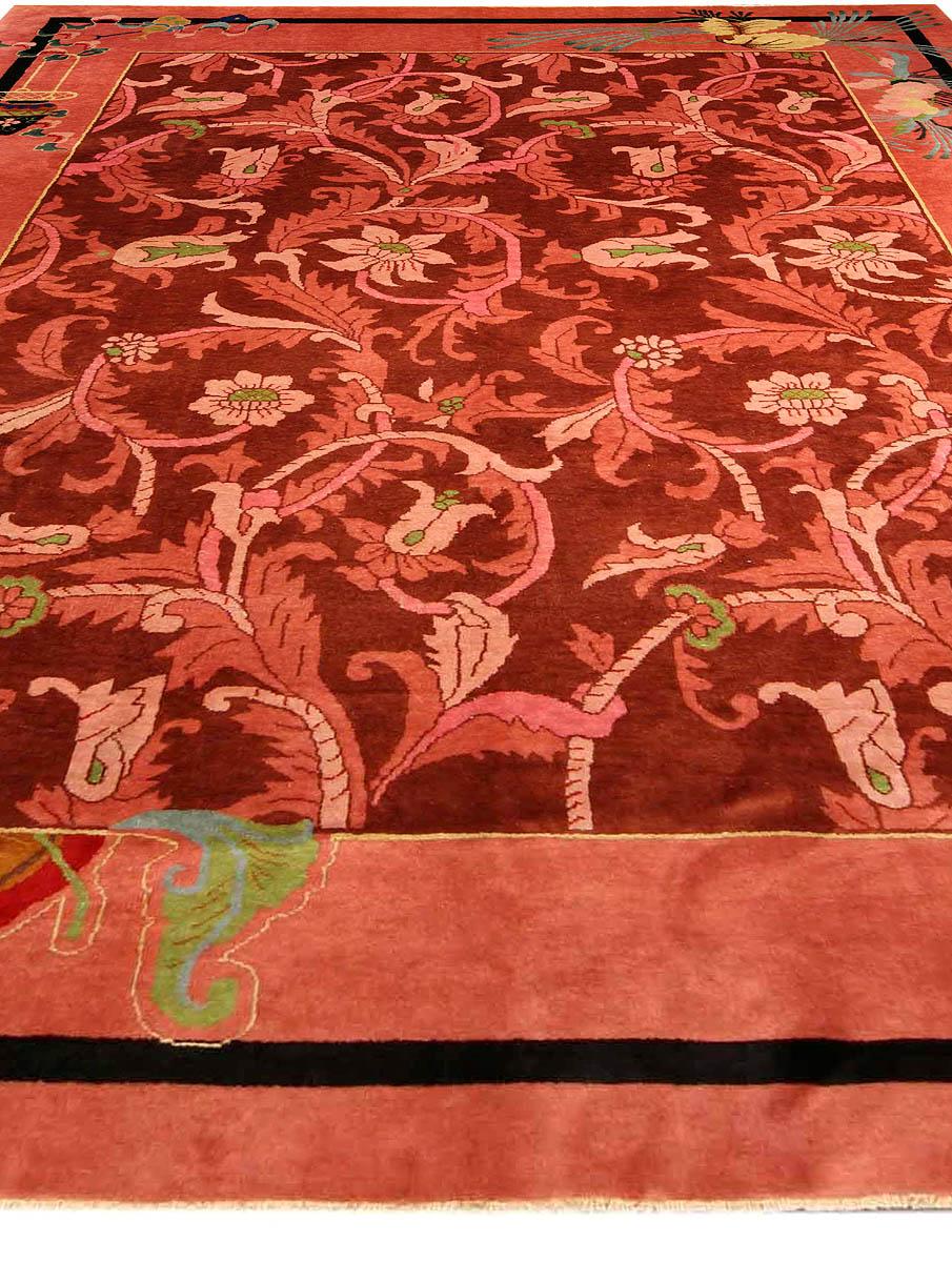 Vintage Chinese Art Deco Carpet BB4169